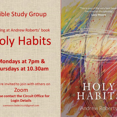 Bible Study Holy Habits