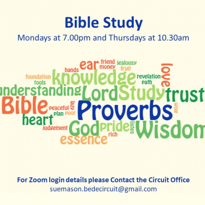 Bible Study Proverbs