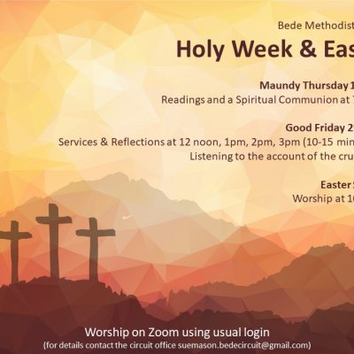 Holy Week and Easter 2021
