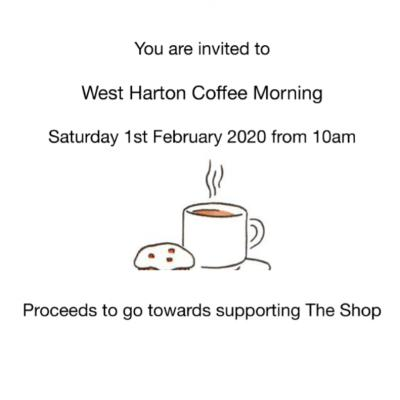 West Harton Coffee Morning